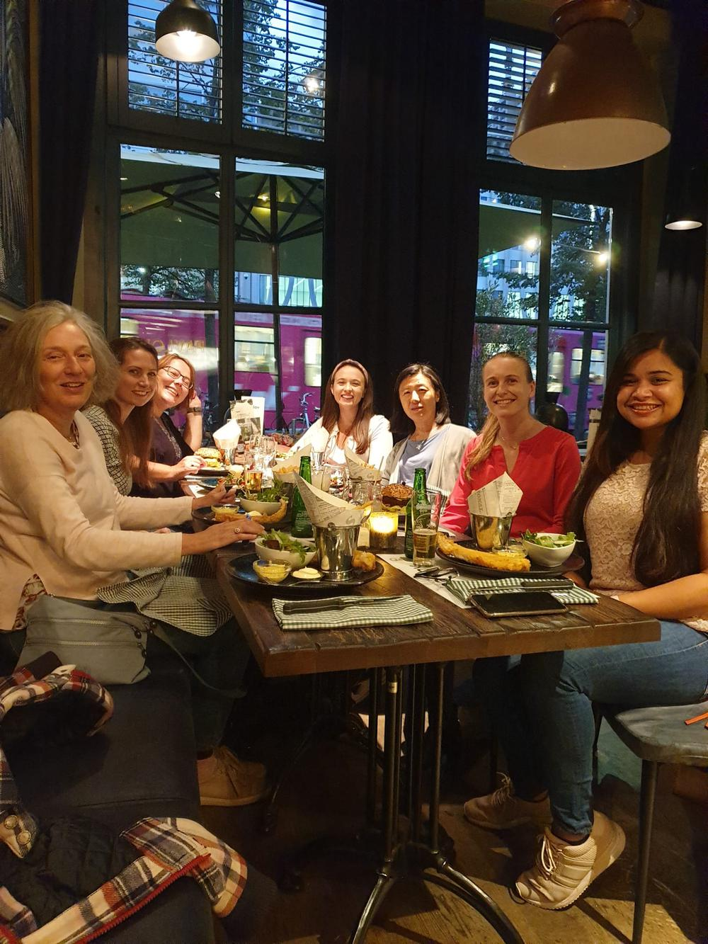 Networking dinner: 24th September Den Haag