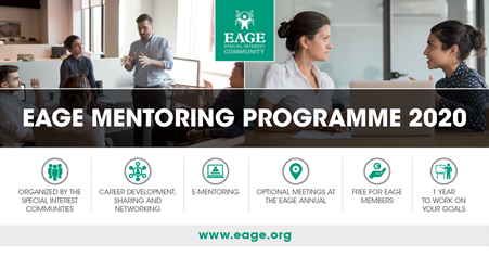 March 2020 - EAGE Mentoring Programme 2020