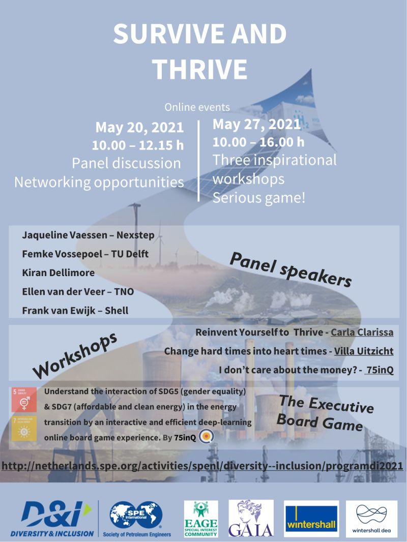 SURVIVE AND THRIVE event